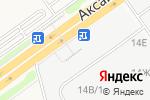 Схема проезда до компании КИРПИЧ-ГРАНИТ в Аксае