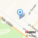 Высшая Лига на карте Ярославля
