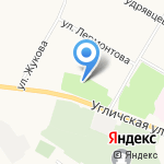 Ярославский музей боевой славы на карте Ярославля