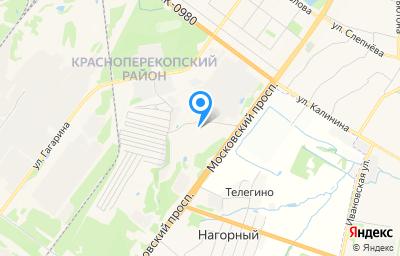 Местоположение на карте пункта техосмотра по адресу г Ярославль, пр-кт Московский, д 112А