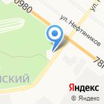 Шинный центр на карте Ярославля