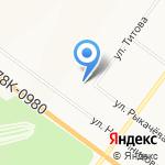 Хлебушко на карте Ярославля