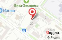 Схема проезда до компании Приоритет в Ярославле