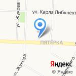 Макси на карте Ярославля
