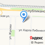 Центр гражданской защиты г. Ярославля на карте Ярославля