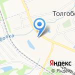 Водолей на карте Ярославля