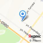Виноградная Лоза на карте Ярославля