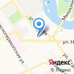 Красный перекоп на карте Ярославля