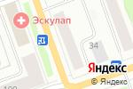 Схема проезда до компании Тайга в Северодвинске