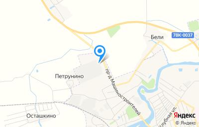 Местоположение на карте пункта техосмотра по адресу Ярославская обл, г Гаврилов-Ям, проезд Машиностроителей, д 1