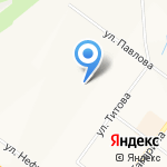 Детский сад №4 на карте Ярославля
