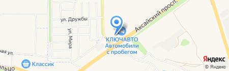 Toyota на карте Аксая