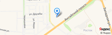 КБ Центр-инвест на карте Аксая