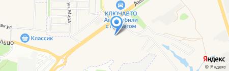 Феличе на карте Аксая