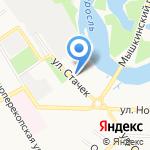 Астра на карте Ярославля