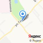 Автоэлемент на карте Вологды