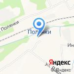 Диса на карте Ярославля