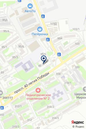 АВТОрид на карте Ростова-на-Дону