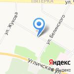 Бочонок на карте Ярославля