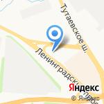 Руспетрол на карте Ярославля