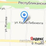 Мировые судьи Ленинского района на карте Ярославля