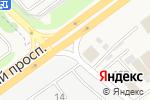 Схема проезда до компании Квадратный метр в Аксае
