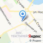 Детский сад №59 на карте Ярославля