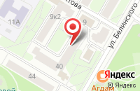 Схема проезда до компании В гостях в Ярославле
