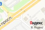 Схема проезда до компании Каменный двор в Аксае