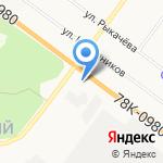 Ярославский центр стандартизации на карте Ярославля