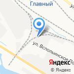 Арден на карте Ярославля