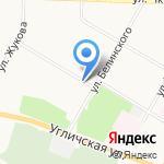 Рыбалка и отдых на карте Ярославля
