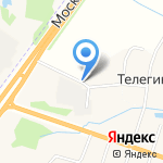 Компания Агрос на карте Ярославля