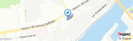 Детский сад №295 на карте Ростова-на-Дону