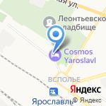 Академия личной охраны на карте Ярославля