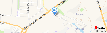Термо на карте Аксая