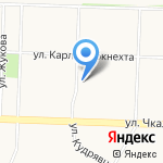 Пожарная часть №2 на карте Ярославля