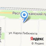 Москвич на карте Ярославля