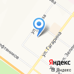 Дзешико на карте Ярославля
