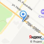 Поволжский региональный автоцентр на карте Ярославля