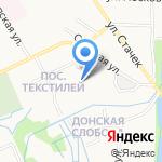 КСБ на карте Ярославля