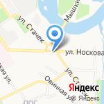 Анастасия на карте Ярославля