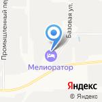 Мелиоратор на карте Ярославля