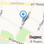 Мелодия здоровья на карте Ярославля