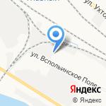 По домашнему на карте Ярославля