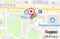 Схема проезда до компании YarZoom в Ярославле