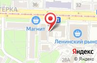 Схема проезда до компании 4 повара в Ярославле