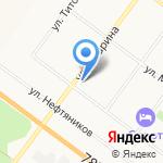 Яртехнострой на карте Ярославля