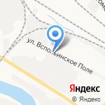 Термоклимат на карте Ярославля