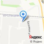Торгвторма на карте Ярославля